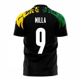 Cameroon 2020-2021 Third Concept Football Kit (Airo) (MILLA 9)