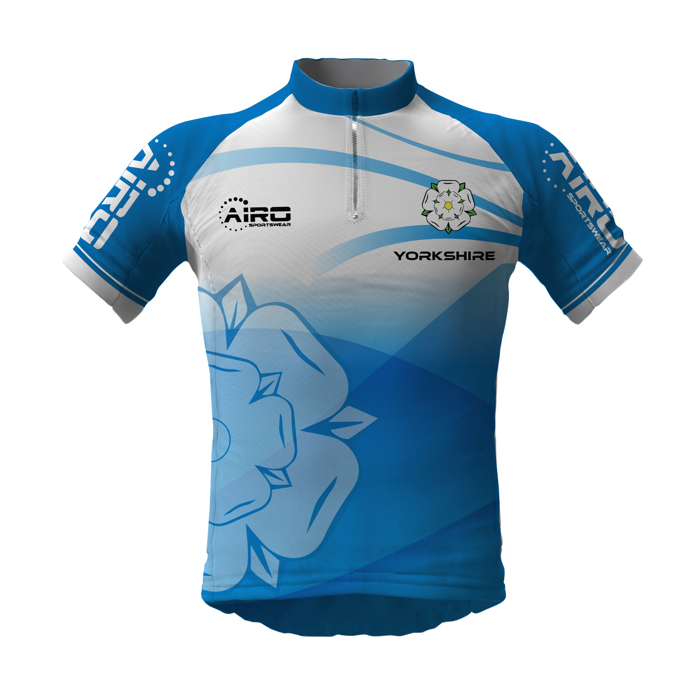 Image of Airosportswear Yorkshire Cycling Jersey