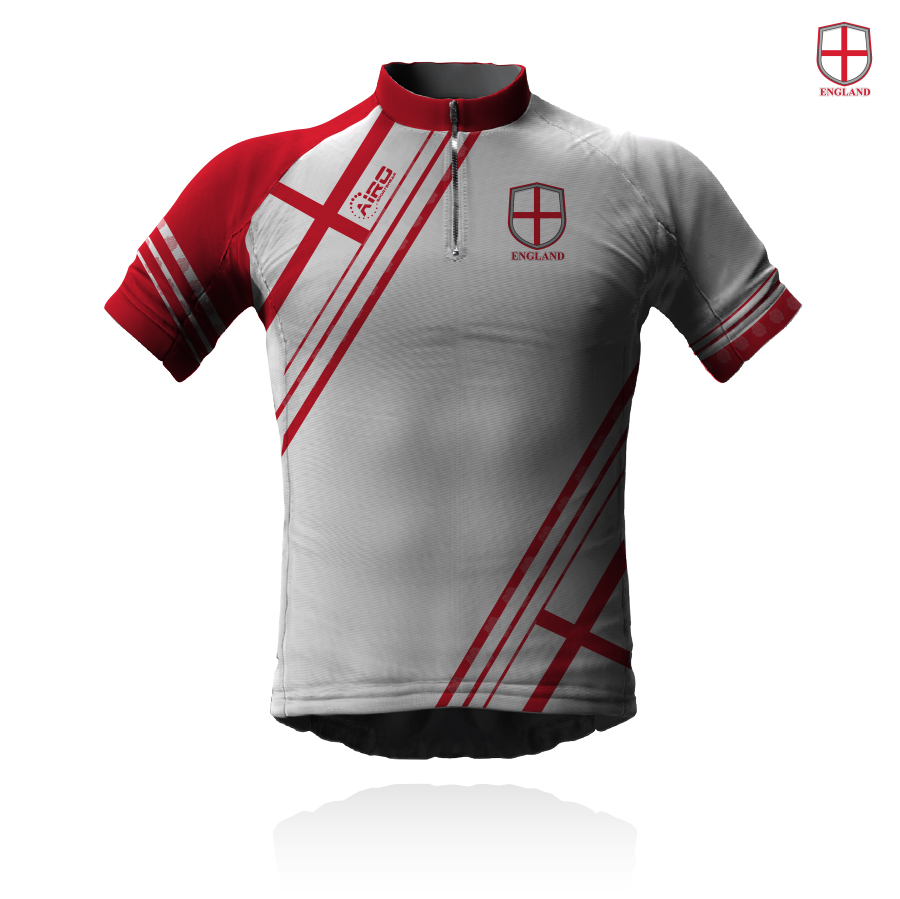 Image of Airosportswear Supporters England Cycling Jersey