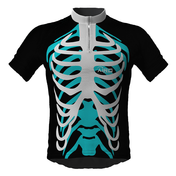 Image of Green Ninja Cycling Jersey