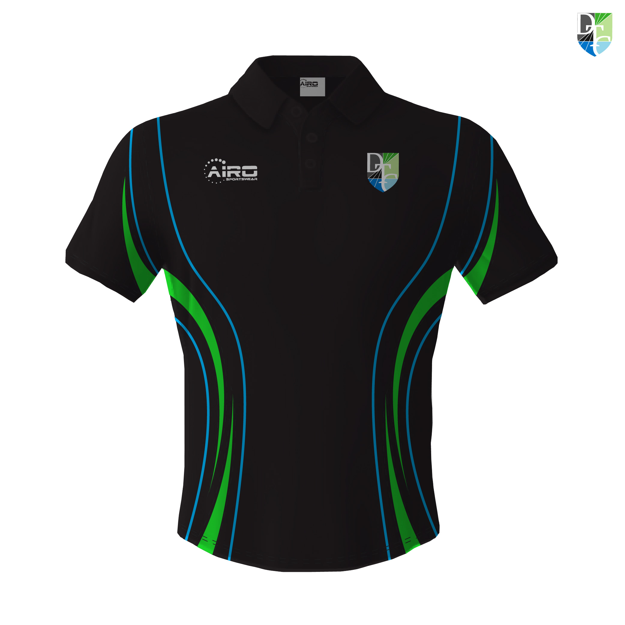 Image of Mens Doncaster Triathlon Club Polo