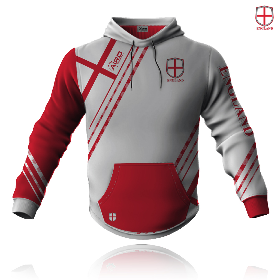 Image of Airosportswear Supporters England Hoodie