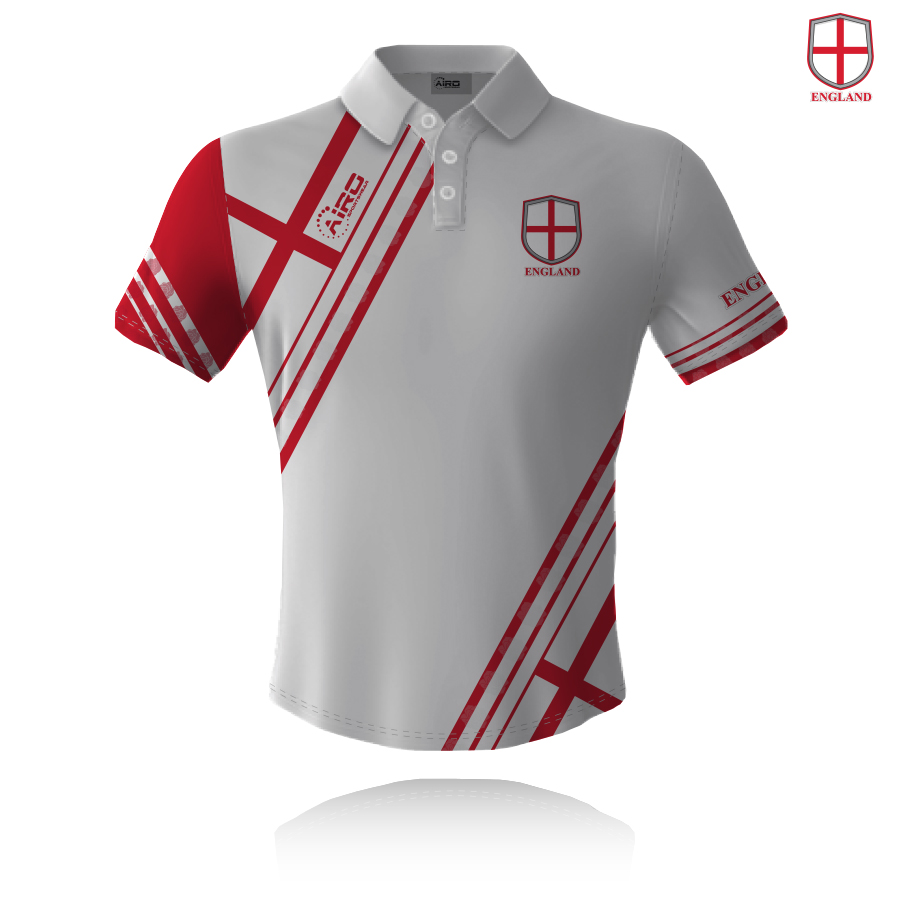 Image of Airosportswear Supporters England Polo