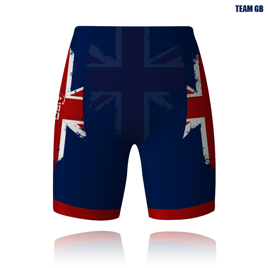 Image of White Trooper Cycling Shorts