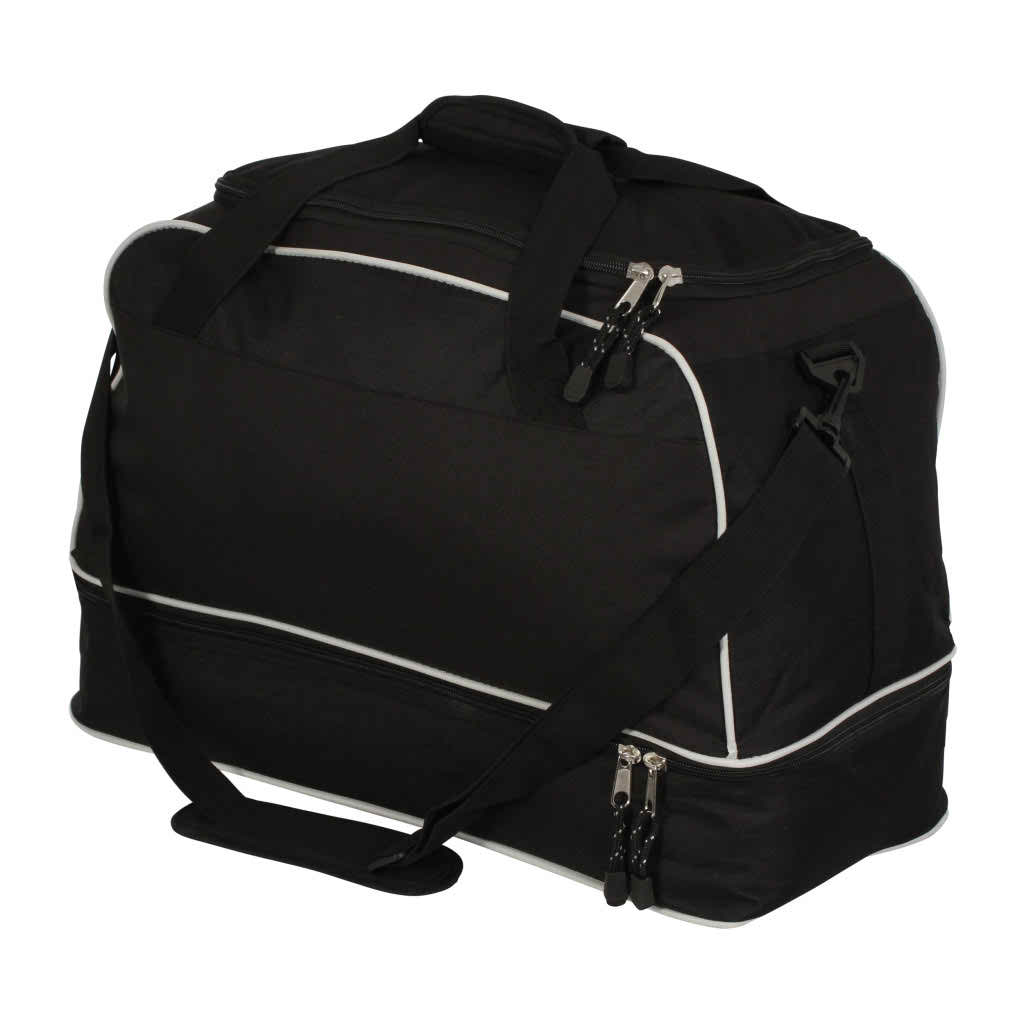 Image of Medium Airosportswear Players Holdalls Black/Silver