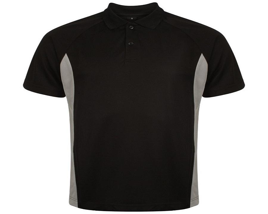 Image of Airosportswear Matchday Polo Black/White