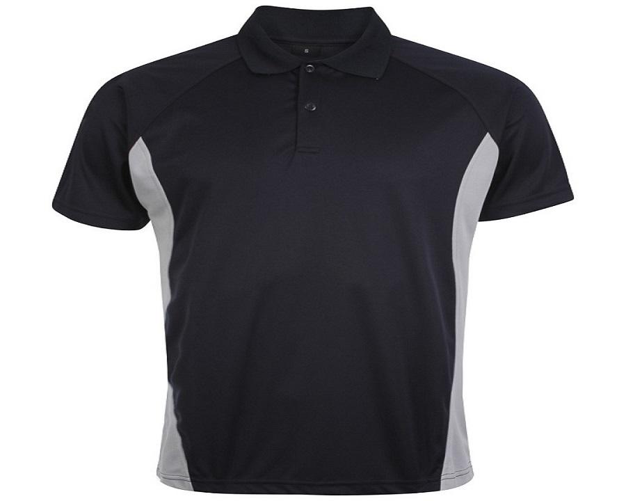 Image of Airosportswear Matchday Polo Navy/Silver