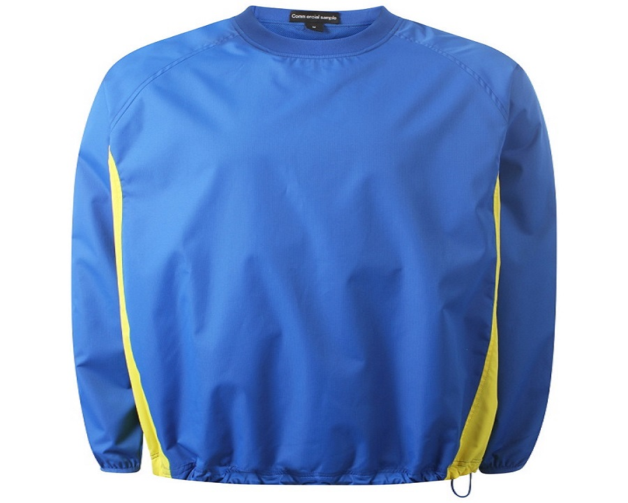 Image of Airosportswear Windbreakers Royal Blue/Yellow