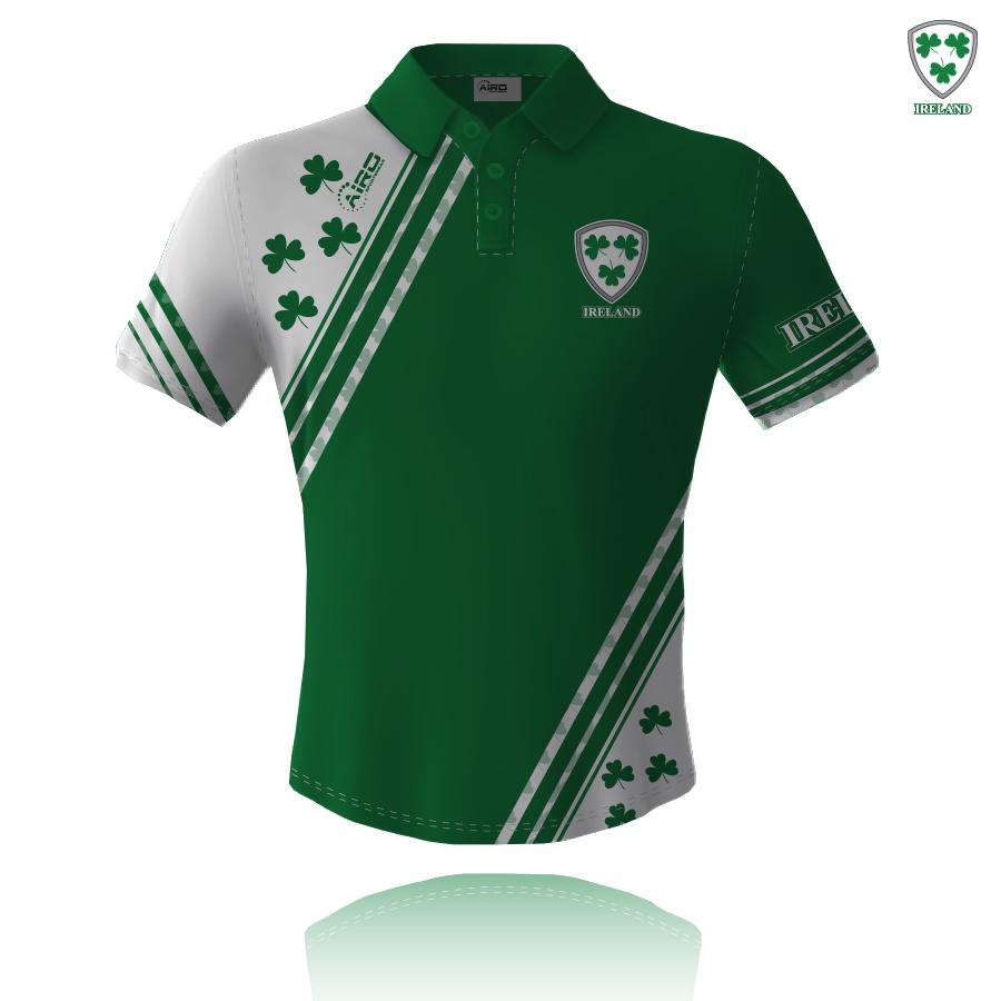 Image of Airosportswear Supporters Ireland Polo