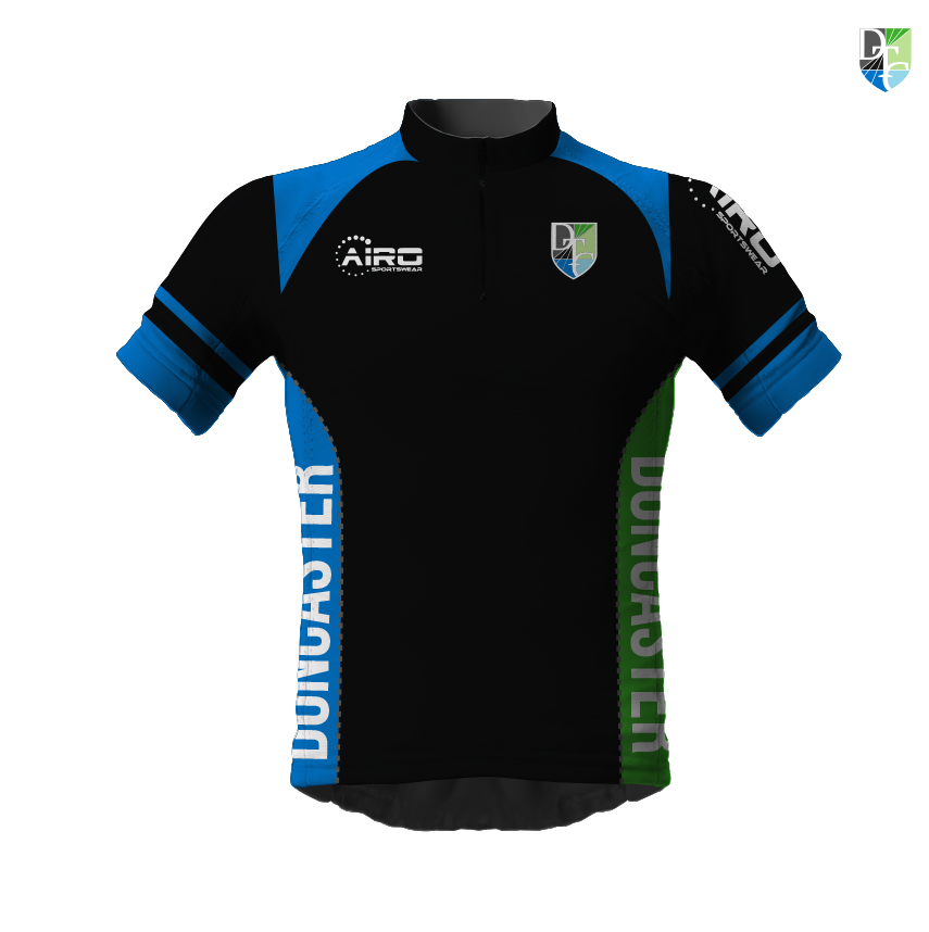 Image of Mens Doncaster Triathlon Club Short Sleeve Cycling Jersey