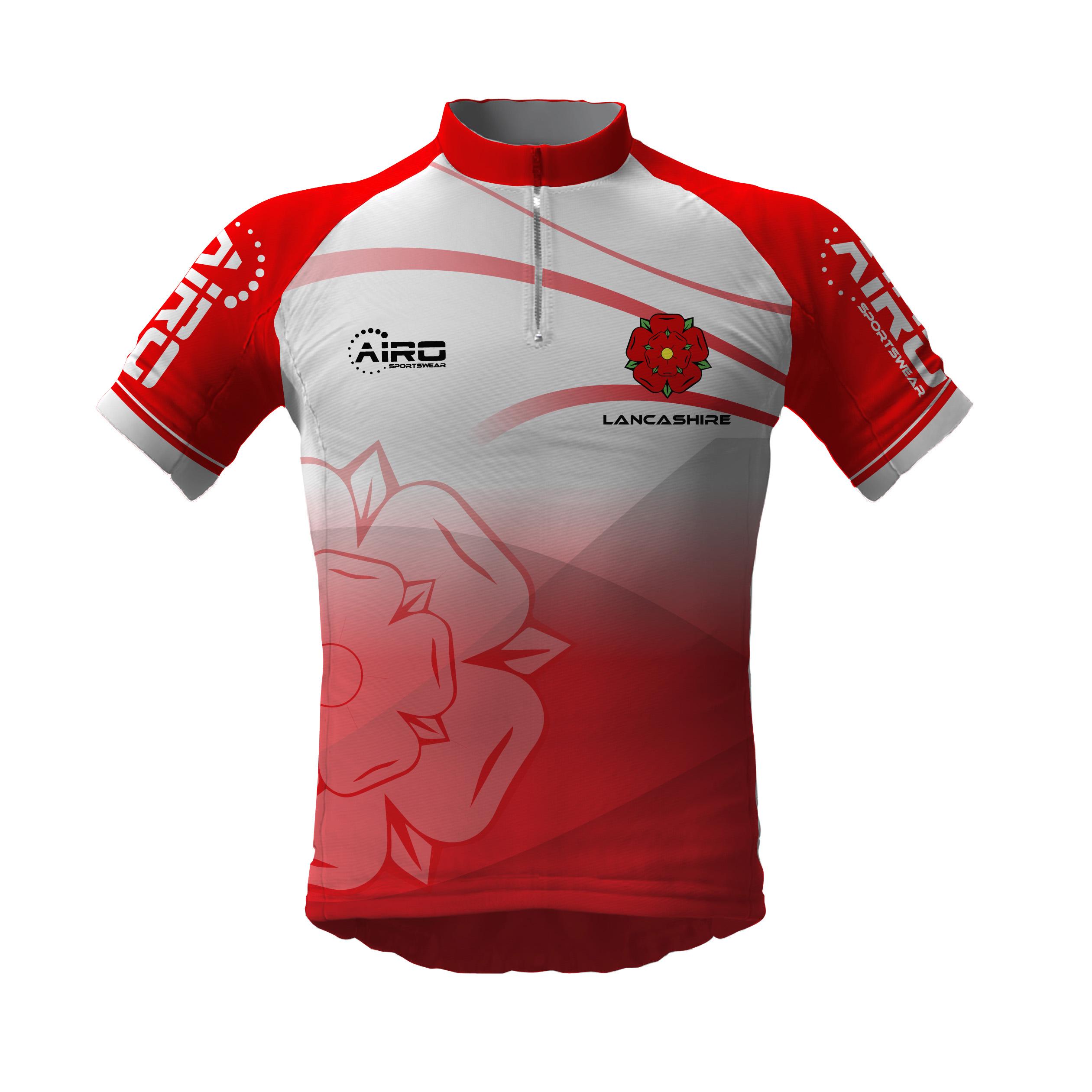 Image of Airosportswear Lancashire Cycling Jersey