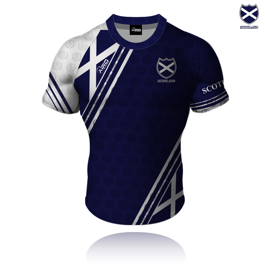 Image of Airosportswear Supporters Scotland Shirt