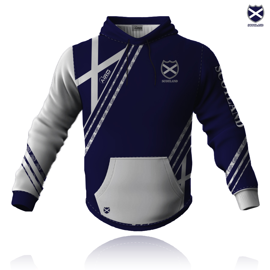Image of Airosportswear Supporters Scotland Hoodie