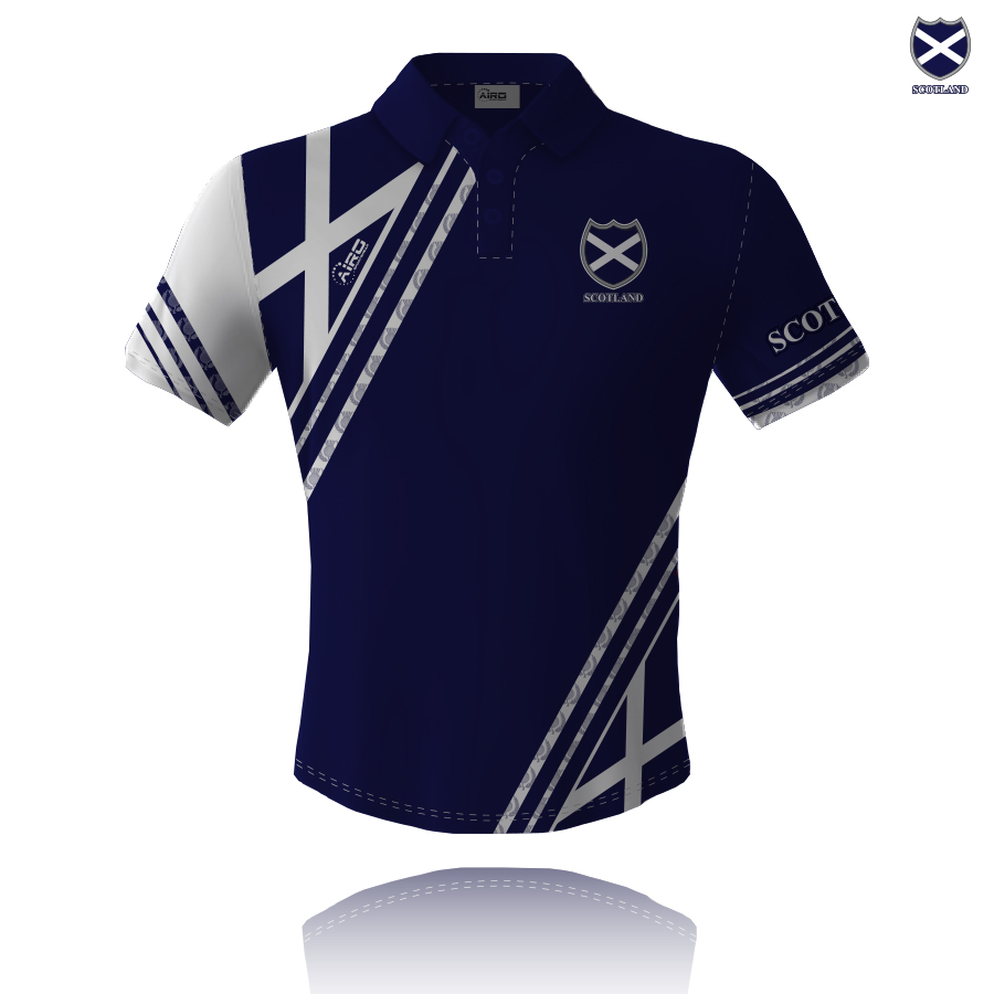 Image of Airosportswear Supporters Scotland Polo
