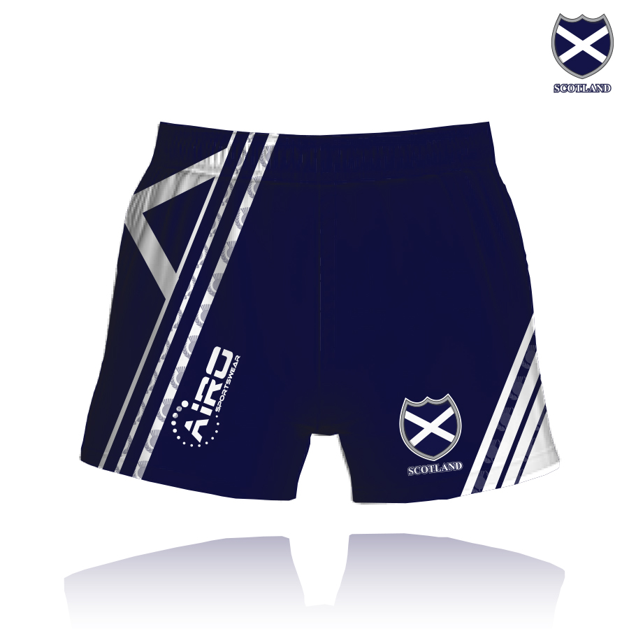 Image of Airosportswear Supporters Scotland Shorts
