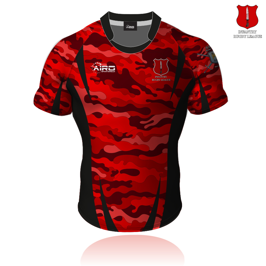Image of Infantry RL Rugby League Shirt