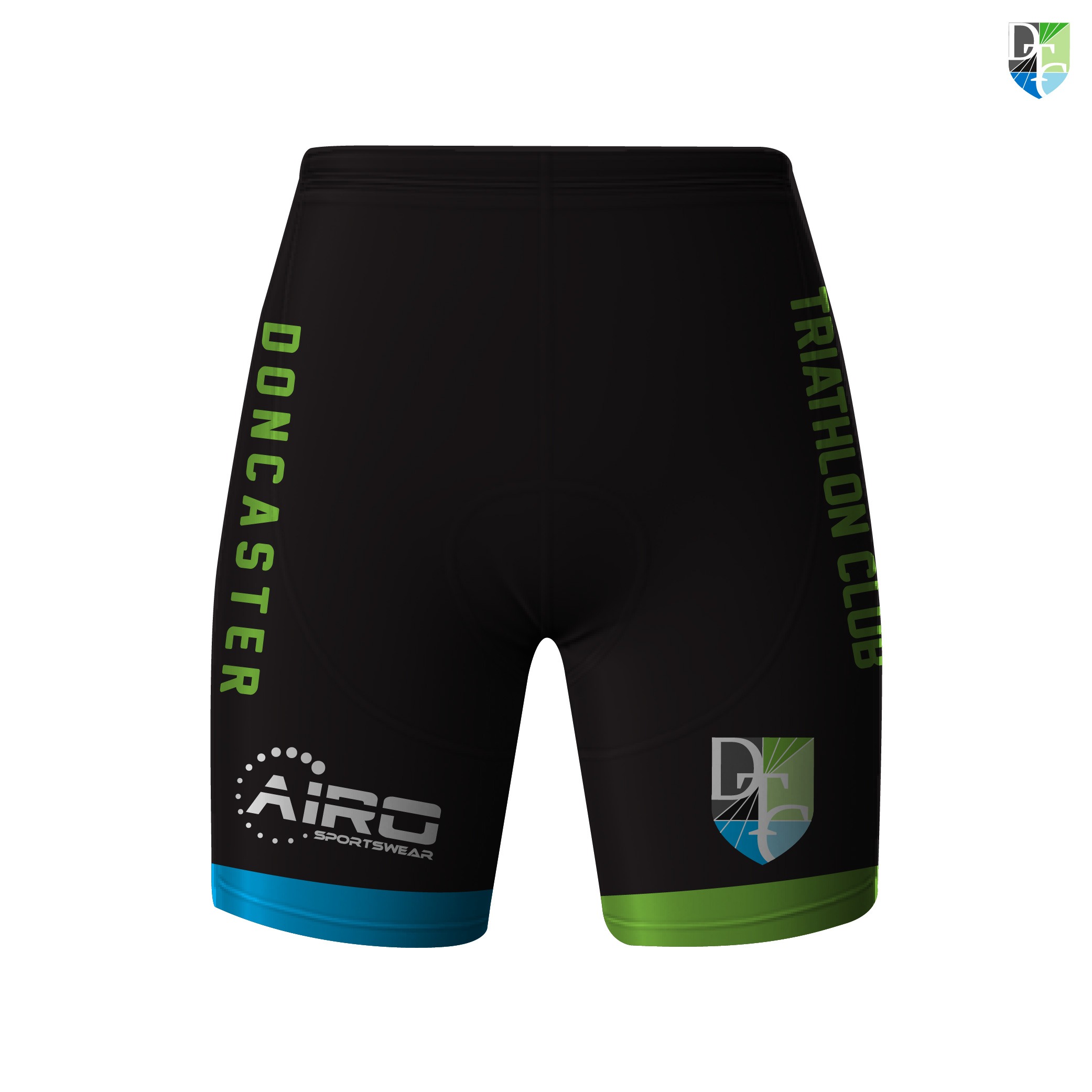 Image of Doncaster Triathlon Club Cycling Shorts