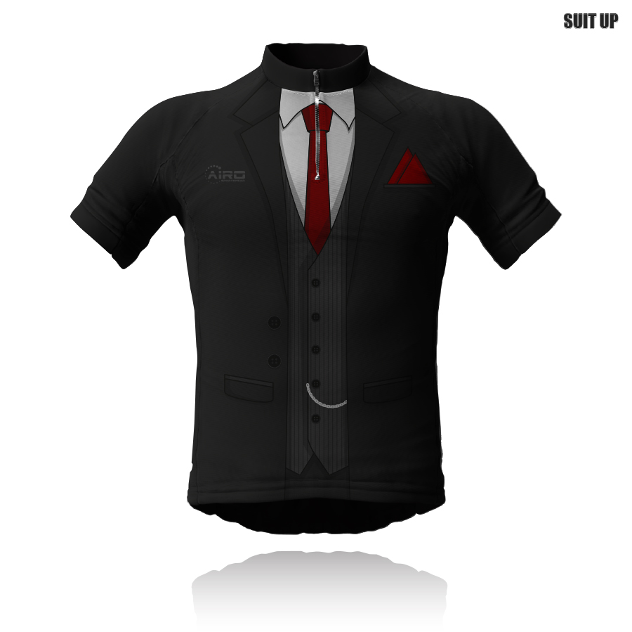 Image of Suit Up Cycling Jersey