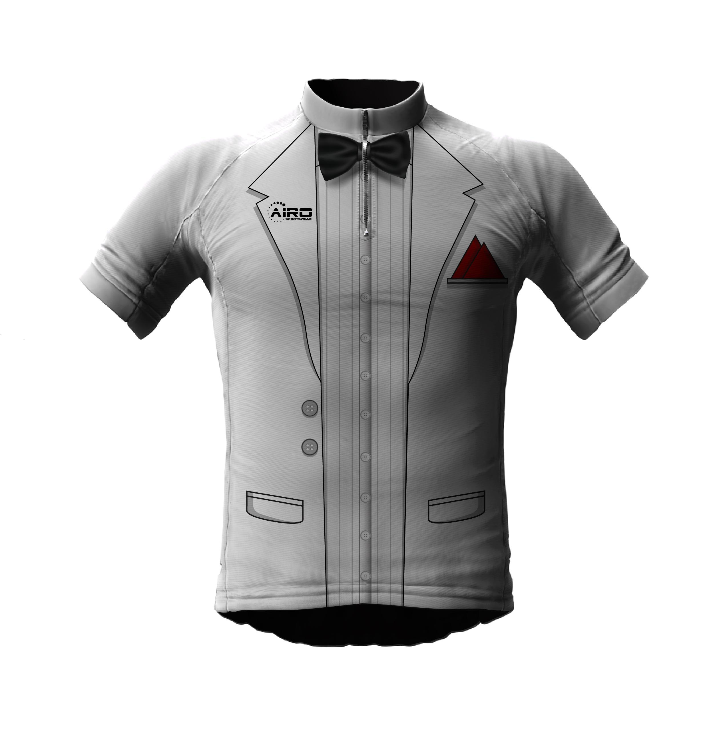 Image of Airosportswear Tuxedo Cycling Jersey