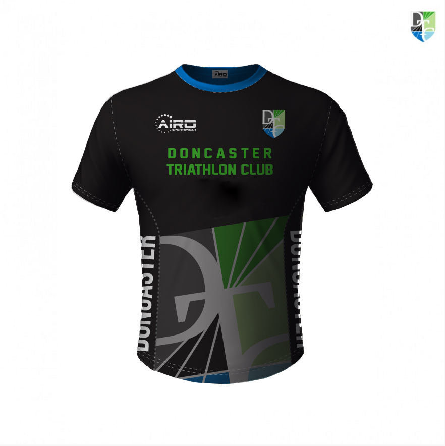Image of Mens Doncaster Triathlon Club T Shirt