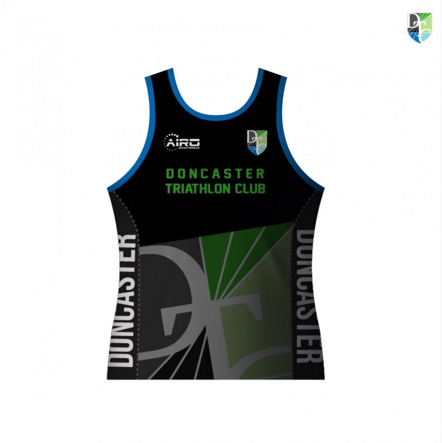 Image of Doncaster Triathlon Club Track Top
