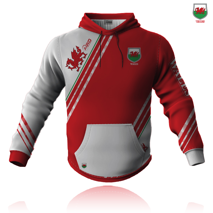 Image of Airosportswear Supporters Wales Hoodie