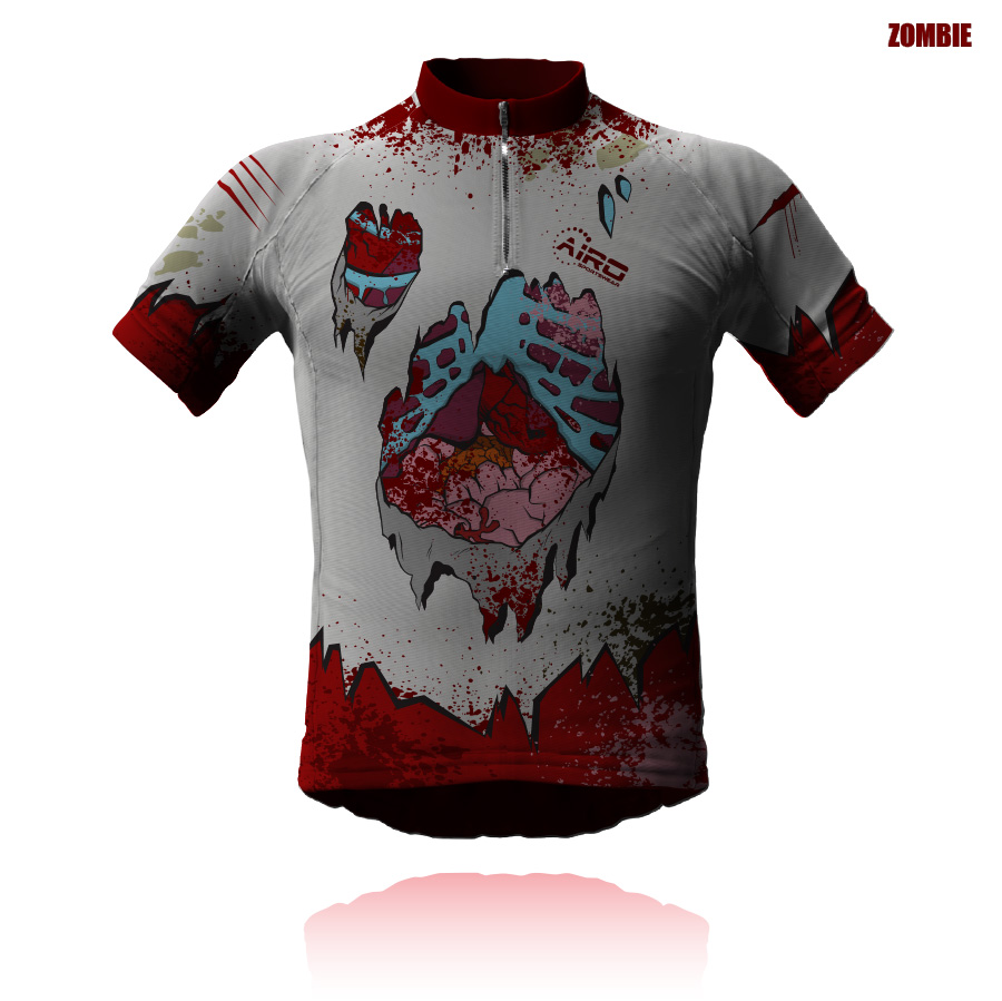 Image of Blue Steel Cycling Jersey