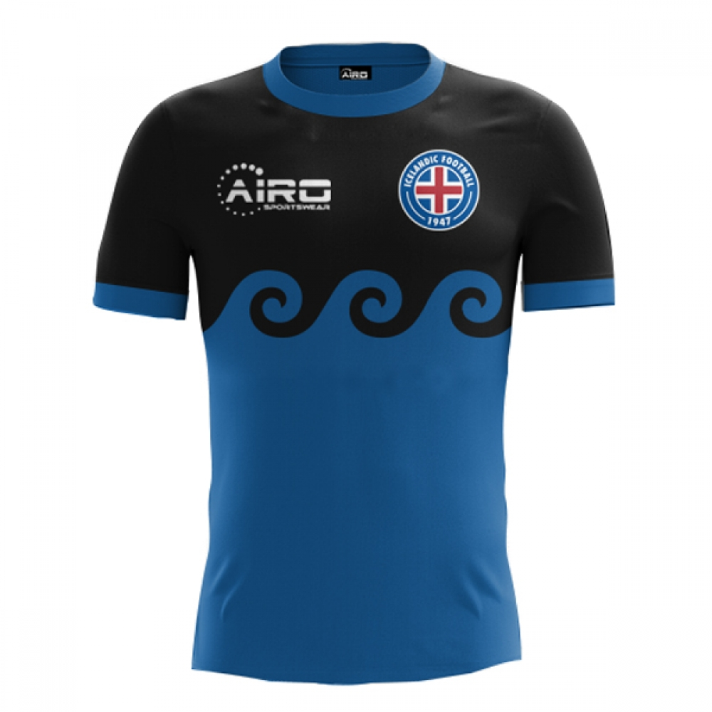 Image of 2017 2018 Iceland Third Concept Football Shirt (Kids)